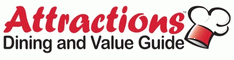Attractions Dining and Value Guide Coupon