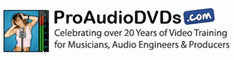 Pro Audio DVDs Coupon