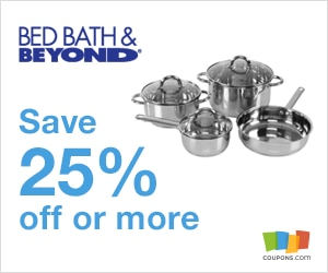$120 off Bed Bath and Beyond Coupon, Promo Codes 2015