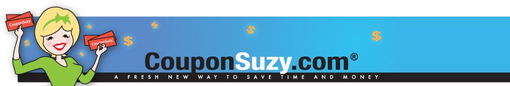 Coupon Suzy dot com, as seen on television, the best source for online printable coupons.
