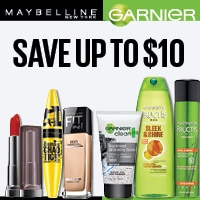 picture relating to Printable Cosmetic Coupons called Maybelline Discount coupons, Printable Bargains - September 2019