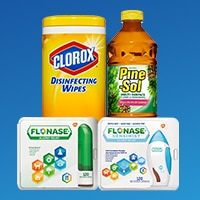 save up to 950 on clorox pine sol flonase