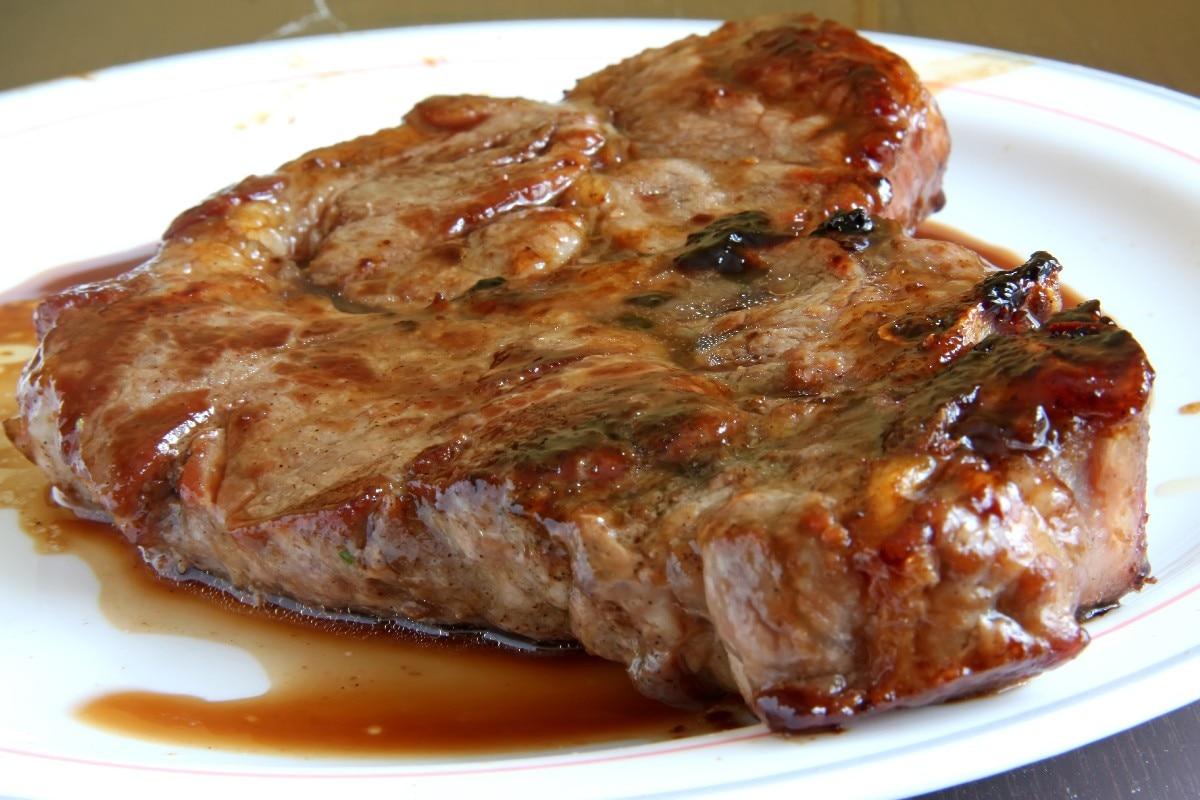 Рецепт стейка из свинины с пошагово