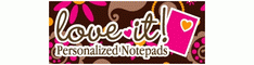 Love It Personalized Notepads Coupon