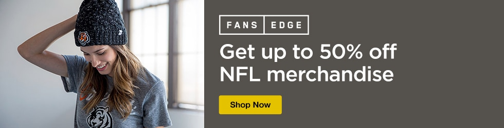FansEdge - Save Up to 50% off on NFL merchandise