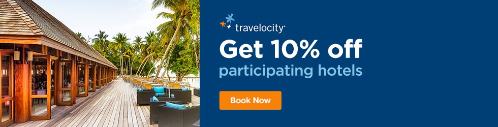 Travelocity - Save 10% Off Participating Hotels