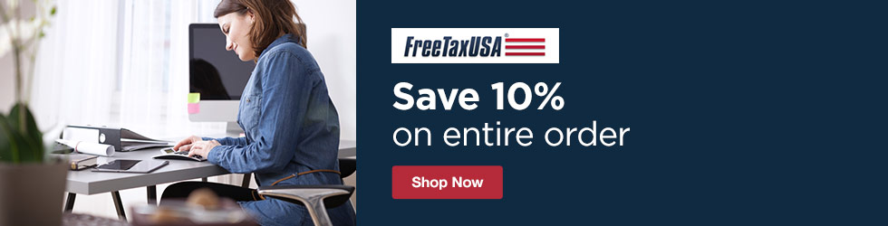 Free Tax USA - Save 10% Off Entire Order