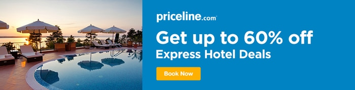 Priceline - Save Up to 60% Off Express Hotel Deals