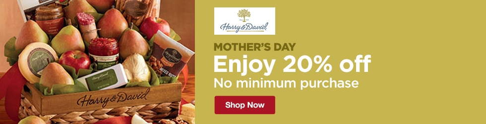 Harry and David - Mother's Day: Enjoy 20% Off, No Minimum Purchase