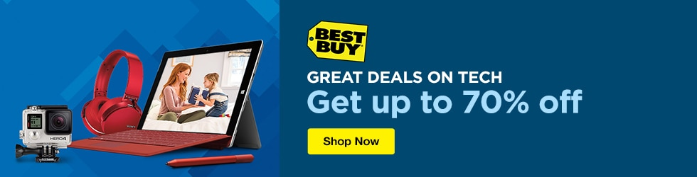 Best Buy - Great Deals on Tech - Up to 70% Off