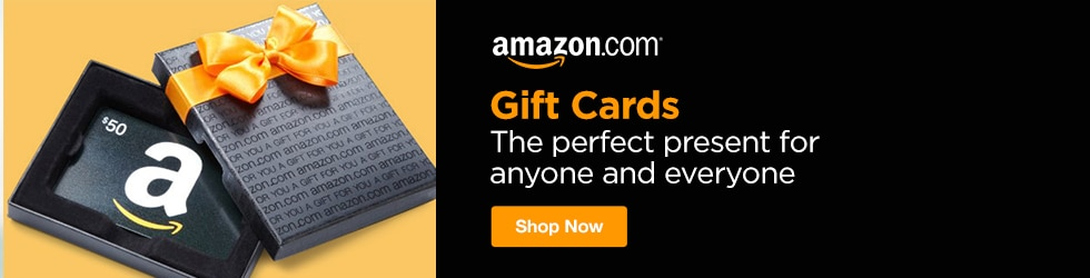 Amazon - Gift Cards: The Perfect Present for Anyone and Everyone