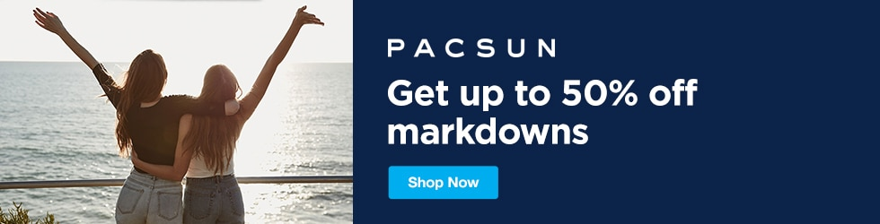PacSun - Save Up to 50% Off Markdowns