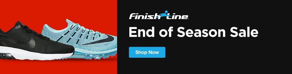 Finish Line - Shop the End of Season Sale for up to 50% Off!