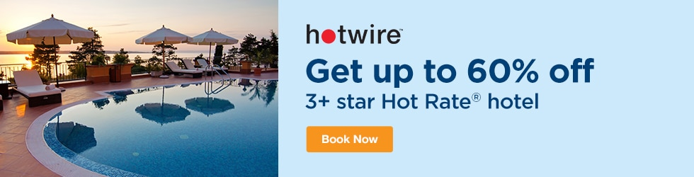 Hotwire - Save Up to 60% Off 3+ Star Hot Rate® Hotel