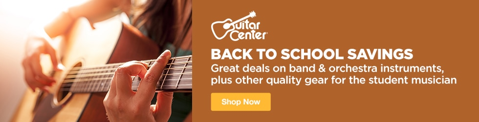 Guitar Center - Back to School Savings - Great Deals on Band and Orchestra Instruments, plus Other Quality Gear for the Student Musician!