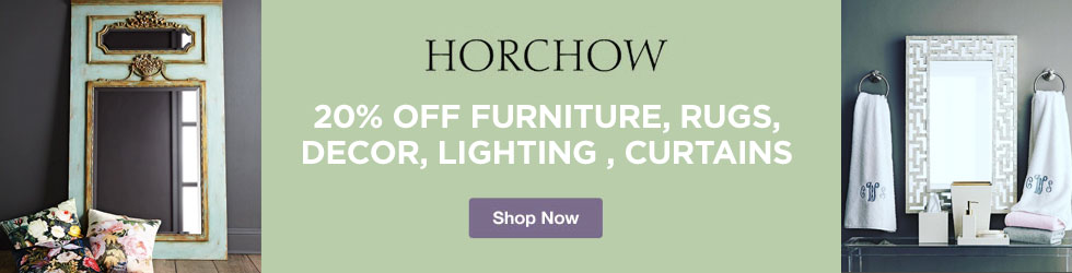 Horchow - 20% Off Furniture, Rugs, Decor, Lighting & Curtains