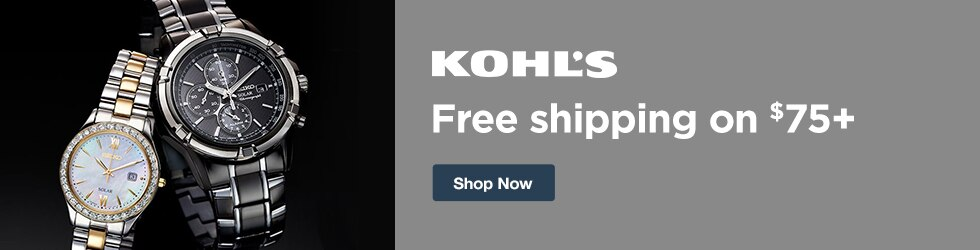 Kohls - Free Shipping on $75+