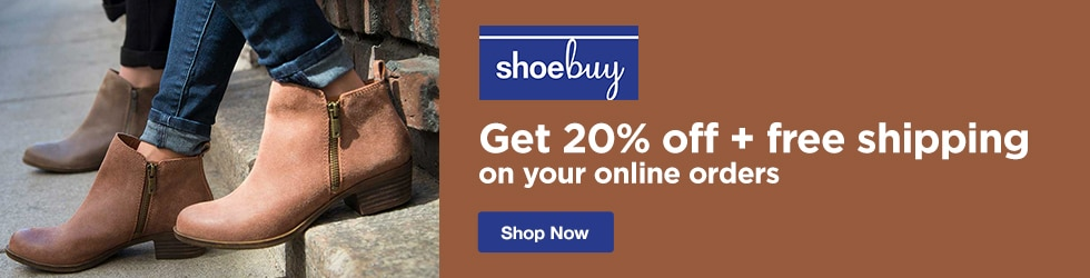 Shoebuy - 20% Off Site wide + Free Shipping