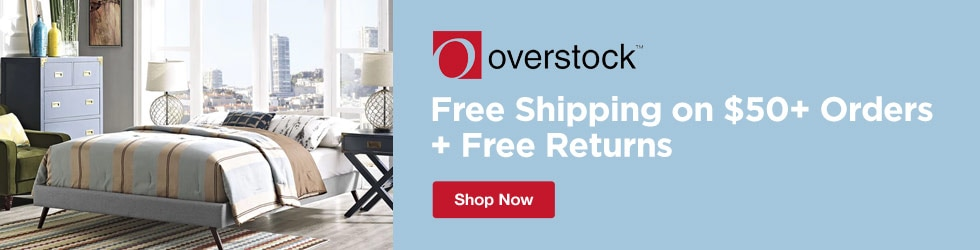 Overstock - Free Shipping on $45+ Orders