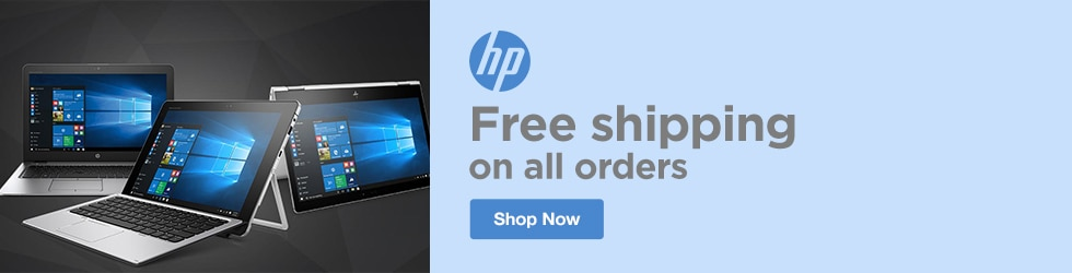 HP - Free Shipping on All Orders