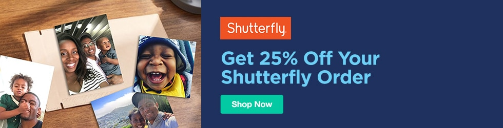 Shutterfly - 25% Off Your Shutterfly Order