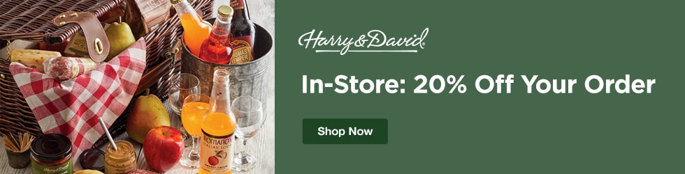 Harry and David - In-Store: 20% Off Your Order