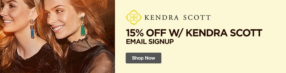 Kendra Scott - 15% Off w/ Kendra Scott Email Signup