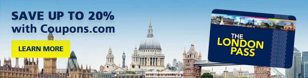 London Pass UK - Coupons.com UK Exclusive - Save up to 20% on London Pass