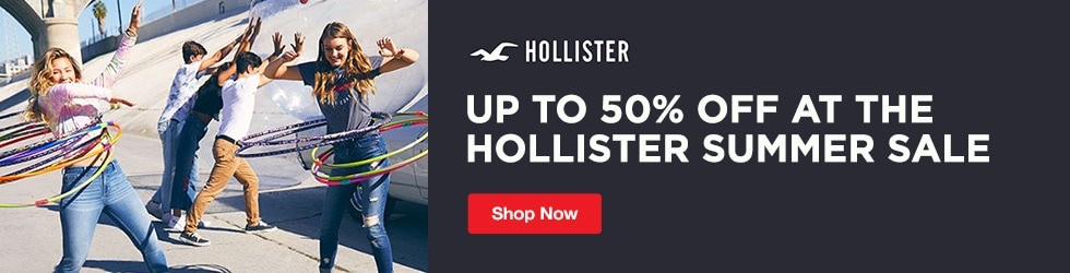 Hollister - Up to 50% Off at the Hollister Summer Sale