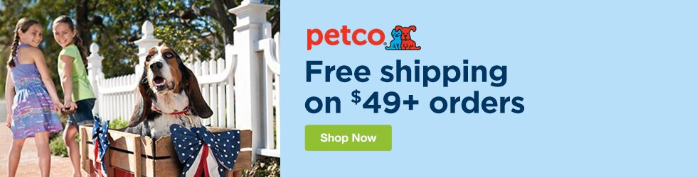 Petco - Free Shipping on $49+ Orders