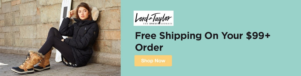 Lord and Taylor - Free Shipping On Your $99+ Order