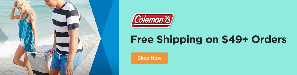 Coleman - Free Shipping on $49+ Orders