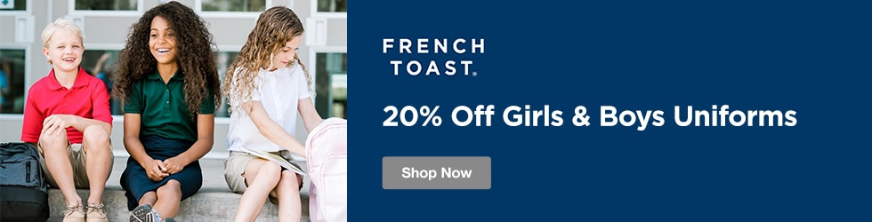 Frenchtoast - 20% Off Girls & Boys Uniforms
