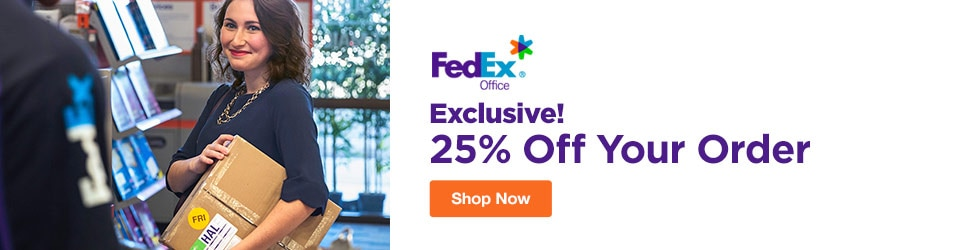 FedEx - Exclusive! 25% Off Your Order