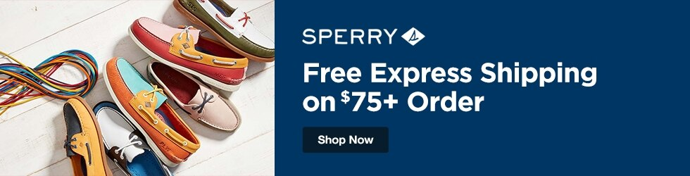 Sperry - Free Express Shipping on $75+ Order