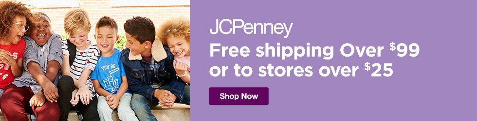 jcpenney - Free shipping Over $99, or to stores over $25