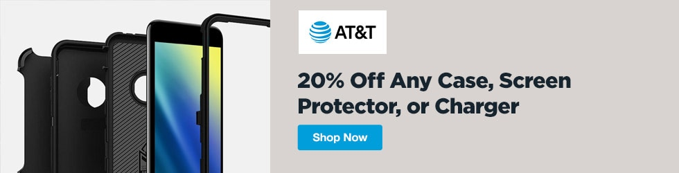 AT&T Wireless - 20% Off Any Case, Screen Protector, or Charger