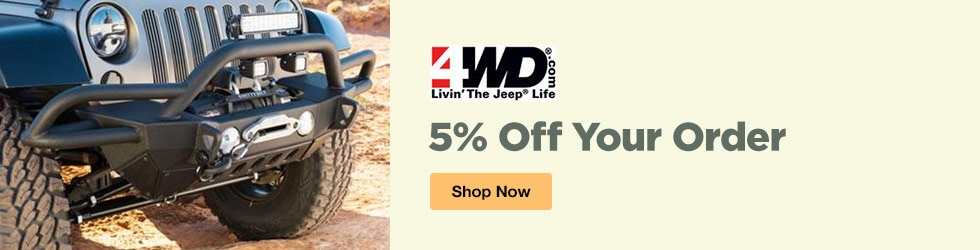 4WD - 5% Off Your Order