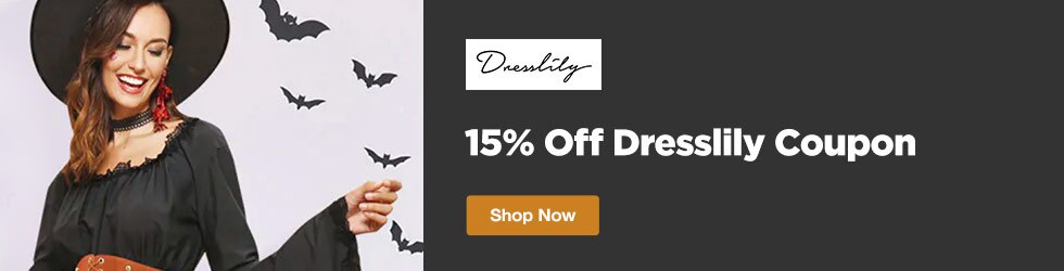 DressLily - 15% Off Dresslily Coupon