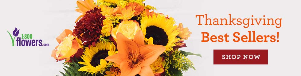 1800Flowers - Send the Thanksgiving Best Sellers