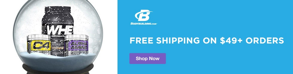 bodybuilding - Free Shipping on $49+ Orders