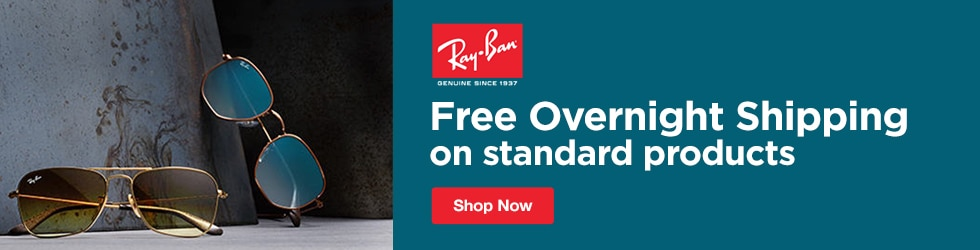Ray Ban - Free Overnight Shipping on Standard Orders + Free Returns