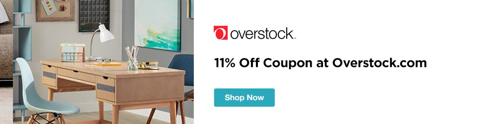 Overstock - 11% off Coupon at Overstock.com