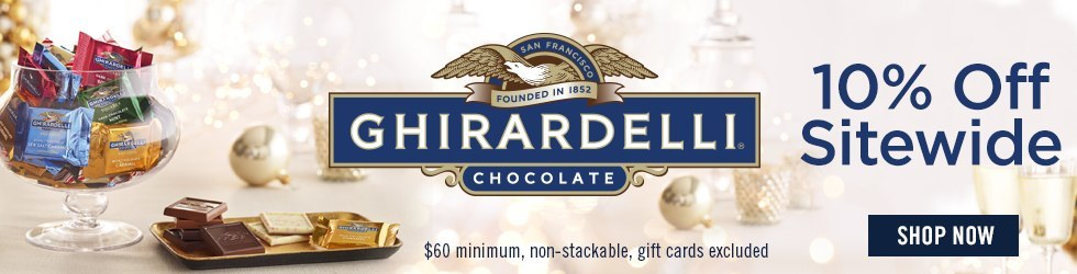 Ghirardelli - Exclusive - 10% Off $60+ Ghirardelli Coupon