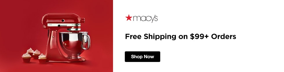 Macys - Free Shipping on $99+ Orders