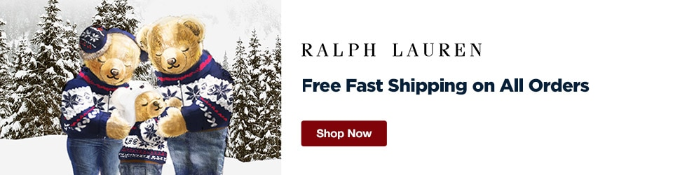 Ralph Lauren - Free Fast Shipping on All Orders