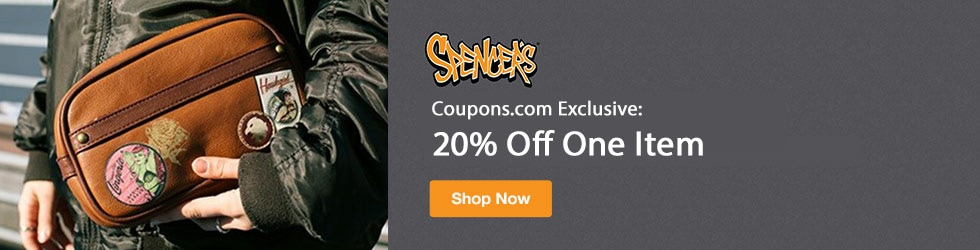 Spencers - Coupons.com Exclusive! 20% Off One Item