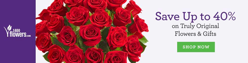 1800Flowers - Up to 40% Off Flowers and Gifts