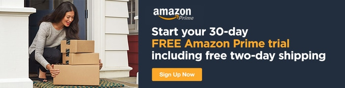Amazon - Start Your 30-Day Free Amazon Prime Trial Including Free Two-Day Shipping!