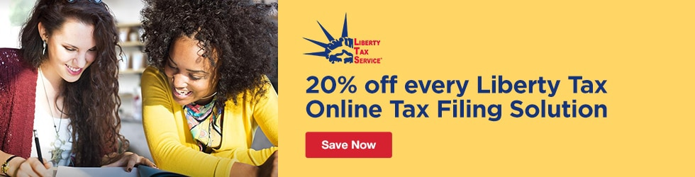 Liberty Tax Service - Extra 20% Off Every Liberty Tax Online Tax Filing Solution